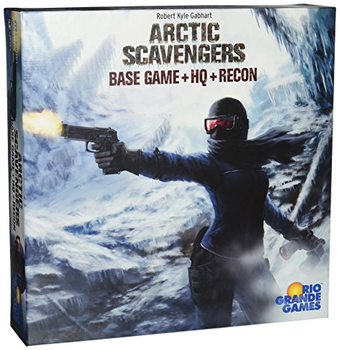 Arctic Scavengers: Base Game + HQ + Recon board game