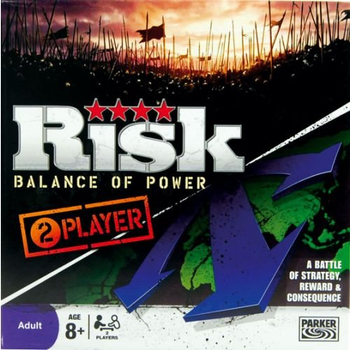 Risk: Balance of Power board game