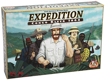 Expedition: Congo River 1884 board game