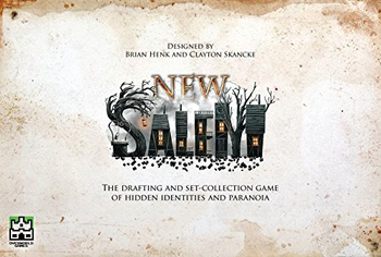 New Salem Card Game board game