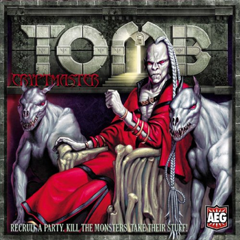 Tomb Cryptmaster board game