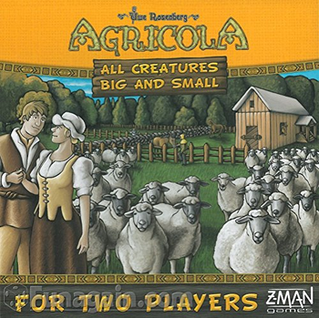 Agricola: All Creatures Big and Small board game