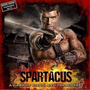 Spartacus: A Game of Blood and Treachery board game