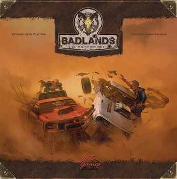 Badlands: Outpost of Humanity board game