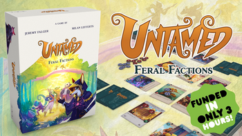 Untamed: Feral Factions board game
