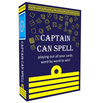 Captain Can Spell board game