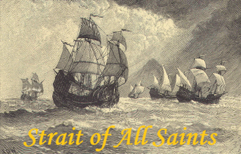 Strait of All Saints board game