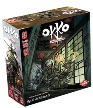 Okko's Chronicles: The Cycle of Water – Quest into Darkness board game