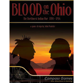 Blood on the Ohio: The Northwest Indian War 1789-1794 board game