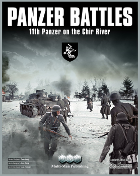 Panzer Battles: 11th Panzer on the Chir River board game
