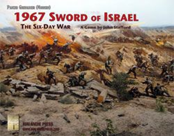 Panzer Grenadier (Modern): 1967 – Sword of Israel: The Six Day War board game