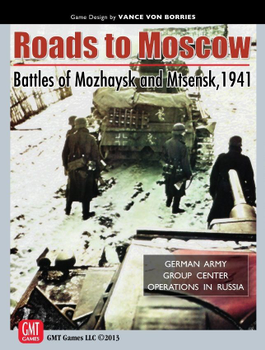 Roads to Moscow: Battles of Mozhaysk and Mtsensk, 1941 board game