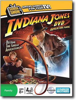 Indiana Jones DVD Adventure Game board game