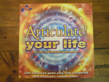 Articulate! Your Life board game