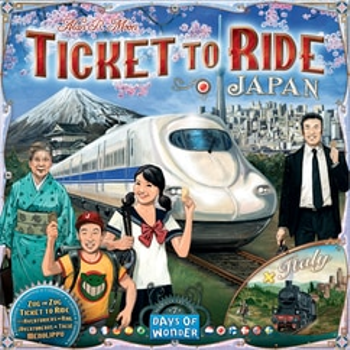 Ticket To Ride: Japan & Italy Map Collection 7 board game