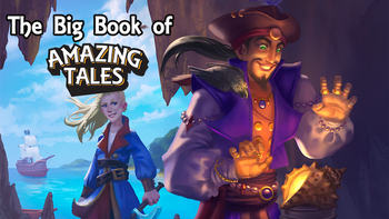 The Big Book of Amazing Tales board game