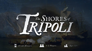The Shores of Tripoli board game