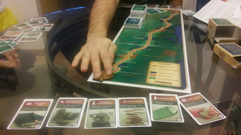 Appalachian Trail Game: Special Edition board game