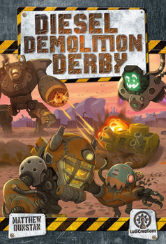Diesel Demolition Derby board game
