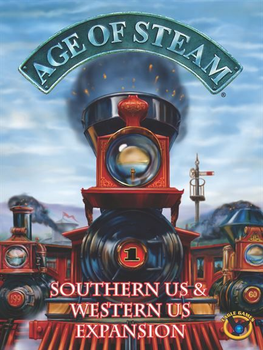Age of Steam Expansion: Southern US / Western US board game