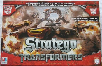 Stratego: Transformers board game
