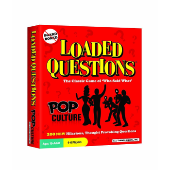 Loaded Questions: Pop Culture board game