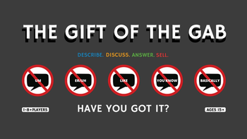 The Gift of the Gab board game