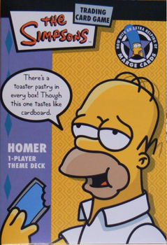 Simpsons Trading Card Game board game