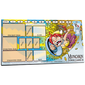 Munchkin Playmat: Flower Cashes In board game