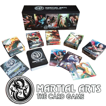 Martial Arts: The Card Game board game