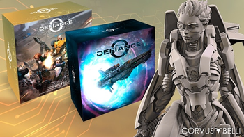 Infinity Defiance board game