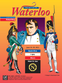 The Battles of Waterloo board game