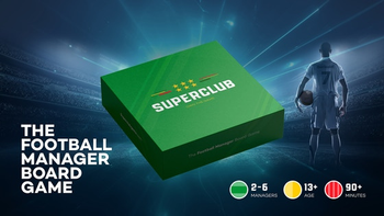 Superclub: The Football Manager Board Game board game