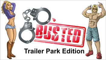 Busted: Trailer Park Edition board game