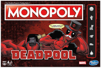Monopoly: Deadpool board game