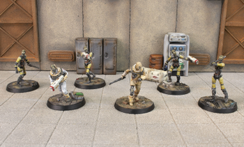 Fallout: Wasteland Warfare - Institute Synths Box Set board game
