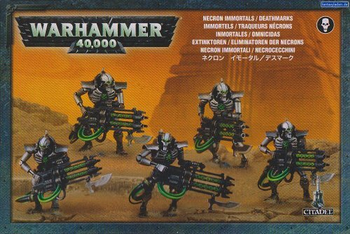Warhammer 40,000: Necron: Immortals / Deathmarks board game