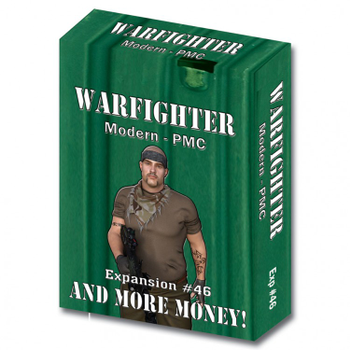 Warfighter: Modern PMC - Expansion 46- And More Money! board game