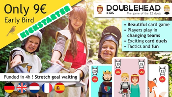 DOUBLEHEAD KIDS board game