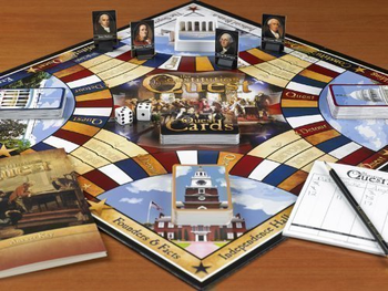 Constitution Quest Game board game
