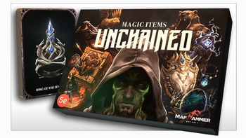 Magic Items Unchained board game