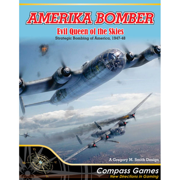 Amerika Bomber: Evil Queen of the Skies board game