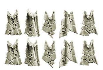 28mm Sci Fi - Chaos (Plague Legion): Skin Tabards board game