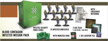 MERCS: Recon – Blood Contagion board game