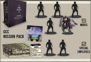 MERCS: Recon – Unilateral Mandate board game
