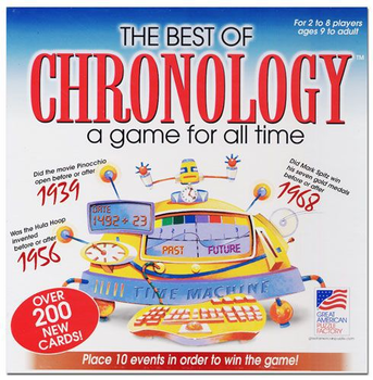 The Best of Chronology board game