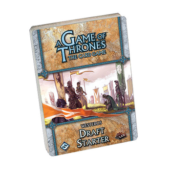A Game of Thrones: The Card Game - Westeros Draft Starter board game