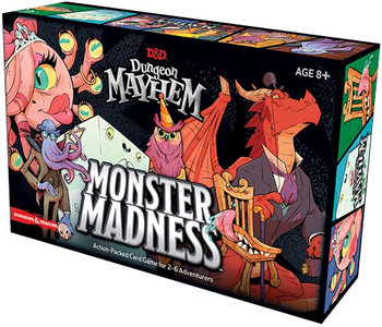 D&D Dungeon Mayhem: Monster Madness Expansion board game