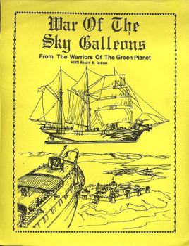 War of the Sky Galleons board game