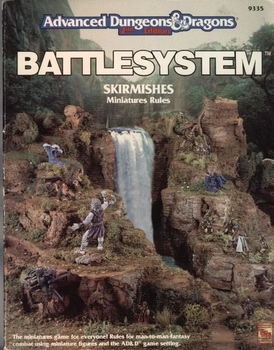 Advanced Dungeons & Dragons Battlesystem Skirmishes board game